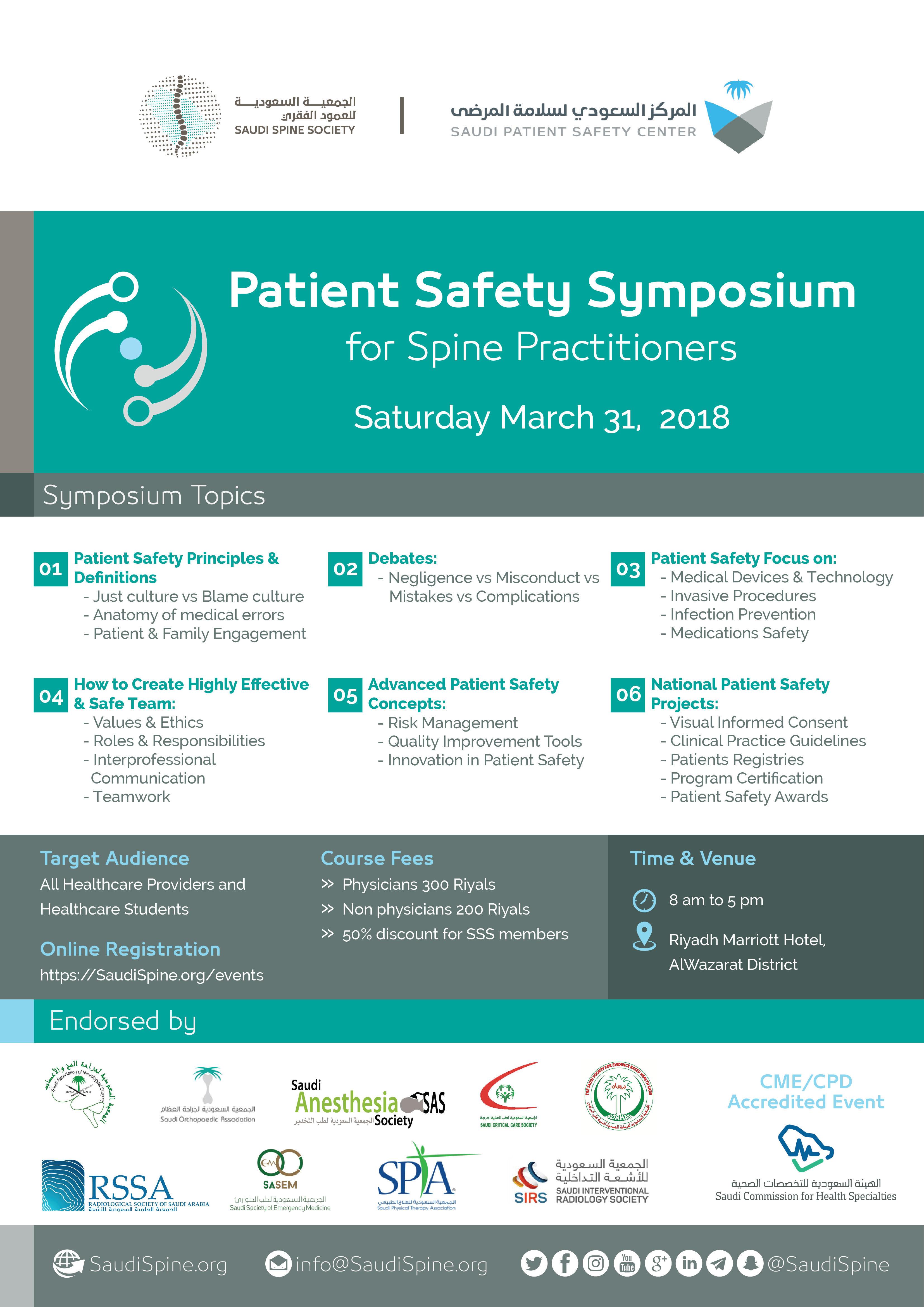 Patient Safety Symposium