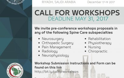 Call for Workshops