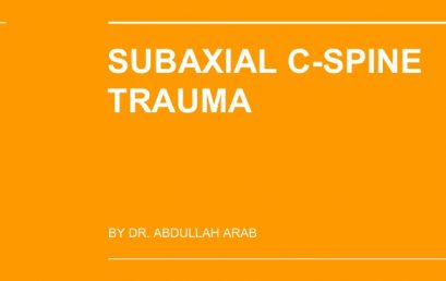 Spine Made Easy: Subaxial Cervical Spine Trauma