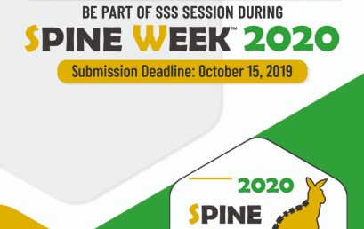Spine Week 2020 Call for Abstracts