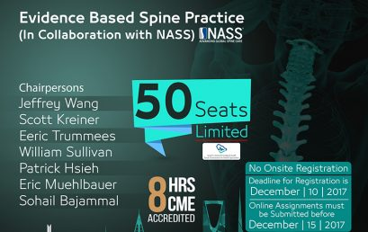Evidence Based Spine Practice Workshop