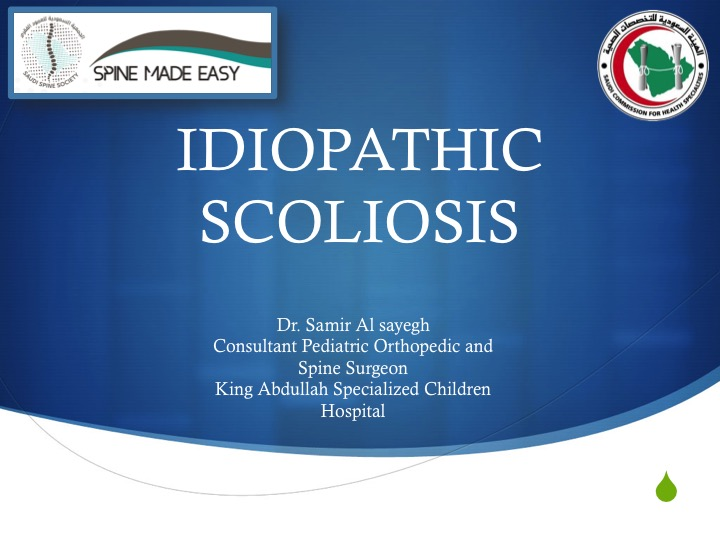 Spine Made Easy: Idiopathic Scoliosis