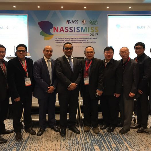 Saudi Spine Society at 2nd Scientific Indonesian Spine Society Meeting