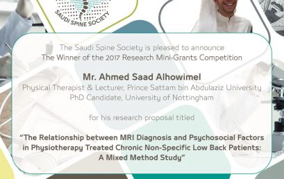 The Research Mini-grant Competition Winner!