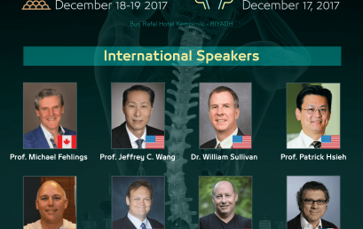 International Speakers – 1st Saudi Spine Society Annual Meeting