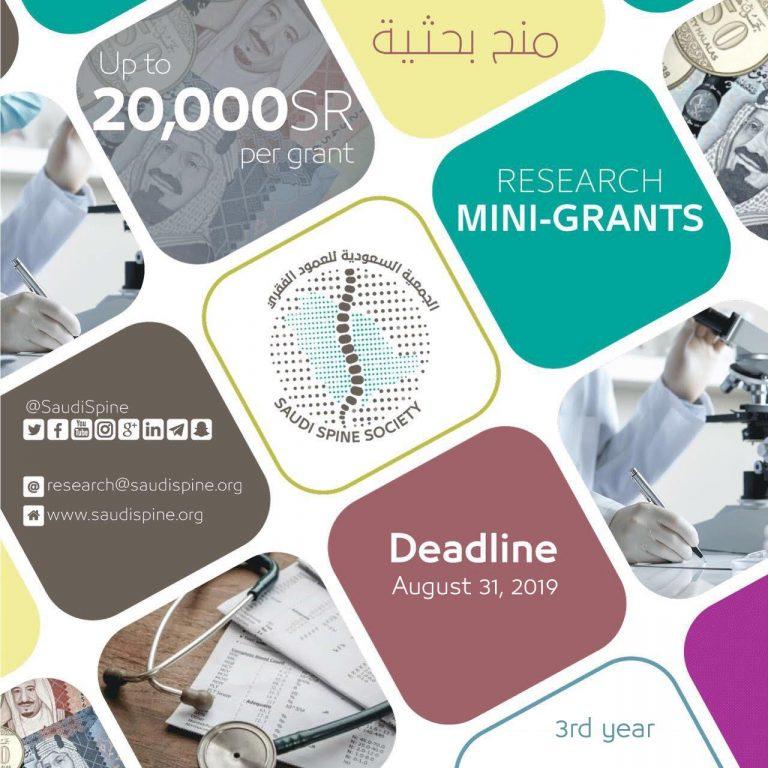 2019 Research Mini-Grants