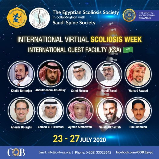 INTERNATIONAL VIRTUAL SCOLIOSIS WEEK